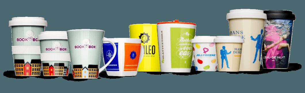 Logo und Design Becher und Tassen