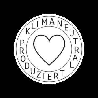 Logo Klimaneutral Kampagne Herz