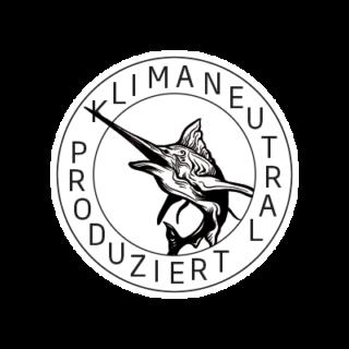 Logo Klimaneutral Kampagne Schwertfisch