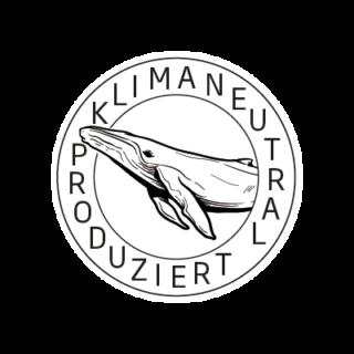 Logo Klimaneutral Kampagne Wal