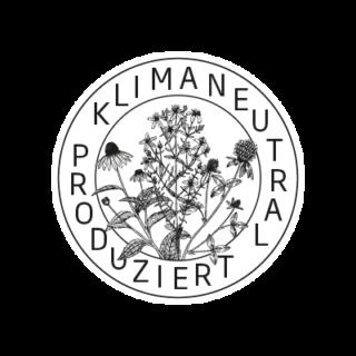 Logo Klimaneutral Kampagne Heilkräuter