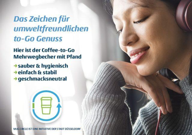 Mug Circle Markenkommunikation Das Zeichen für umweltfreundlichen to go Genuss