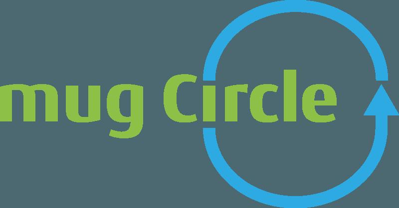 Mug Circle Mehrweg Logo von Ingo Moeller