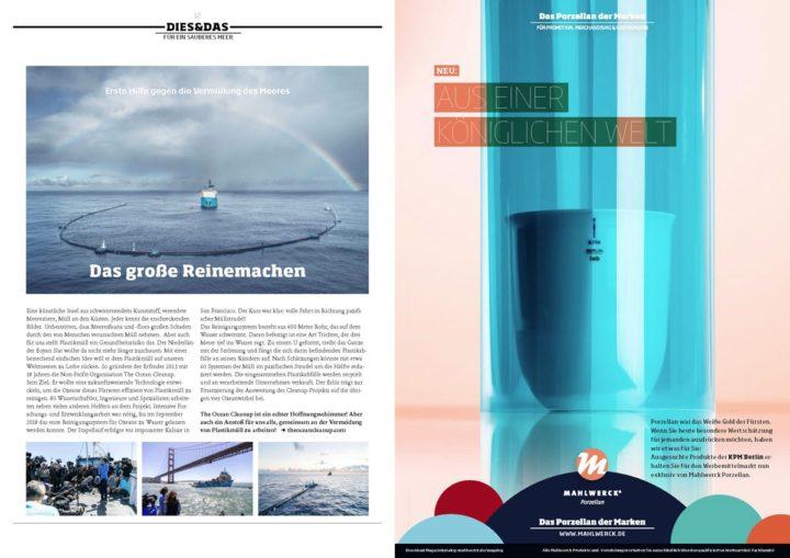 Innenseite Mahlwerck Porzellan Magalog 2019 Konzeption und Realisierung Ingo Moeller
