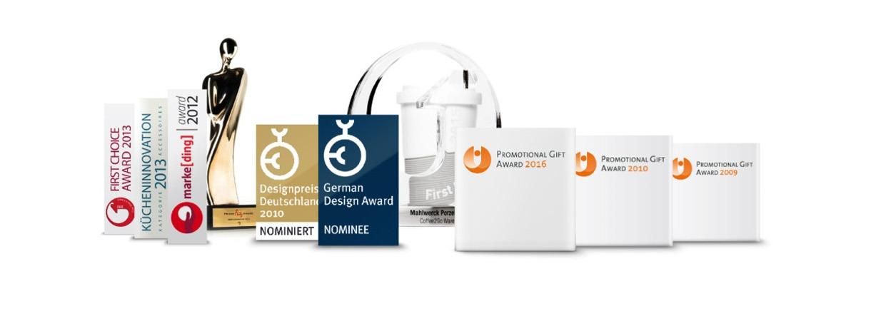 Online Produktabbildungen Internet Auszeichnungen German Design Award Promotion Gift Award
