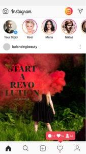 Instagram Revolution Posts by Ingo Moeller