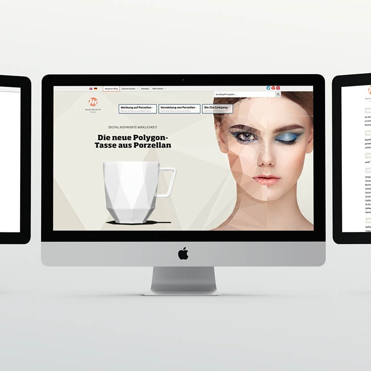 Ingo Moeller Website CMS ECMS für Porzellan Artikelbild