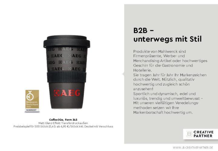 Vertriebs-Präsentation Design Powerpoint München von Ingo Moeller für JB Creative Partners
